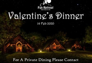 Join Us For An Elegant Romantic Evening at Fun Retreat Resort