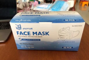 Get 1 High quality 3ply Disposable Mask (JIUYUE Brand) For Tsh 39999