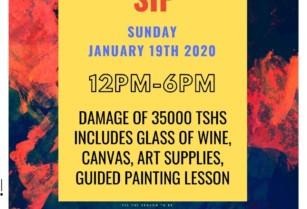 Art-therapy-paint-n-sip-la-fiesta-sable-square-kisongo