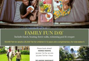 Family FUN DAY at NGARE SERO LODGE