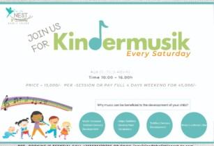 JOIN US FOR KINDER MUSIK : CHILDREN AGES (0-2) (3-4) (5-6)