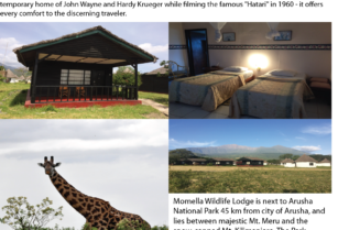 Momella Wildlife Lodge Special Offer $40….