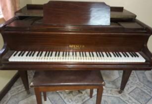 Refurbished Spencer Baby Grand Piano