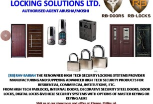 HIGH SECURITY LOCKING SYSTEMS & DOORS