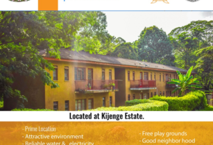 ONE BEDROOM APARTMENT FOR RENT LOCATED AT AICC KIJENGE ESTATE ARUSHA