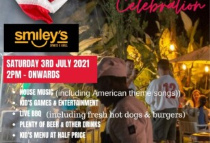 4th of JULY EVE CELEBRATION AT SMILEYS SABLE SQUARE