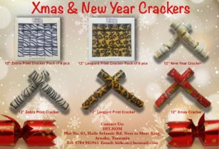 Xmas & New Year Crackers for the Festive Season