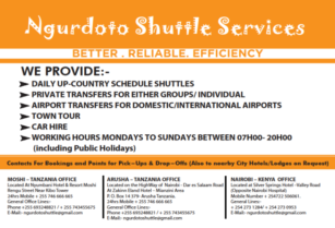 NGURDOTO SHUTTLE SERVICES