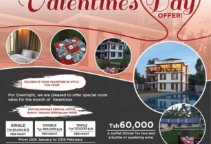 VALENTINES OFFER AT DUAL MOUNTAIN VIEW LODGE 14th February 2021!