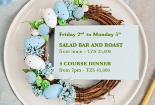 SPEND THIS EASTER WEEKEND AT RIVERTREES  FOR LUNCH AND DINNER