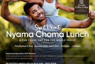 FATHER'S DAY AT ARUSHA COFFEE LODGE