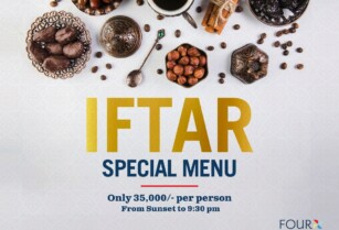 FOUR POINTS BY SHERATON  ARUSHA HOTEL : SPECIAL IFTAR MENU