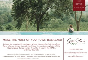 SPECIAL OFFER FROM GIBBS FARM