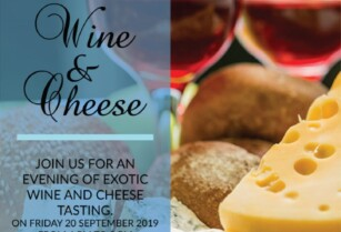 Cheese and Wine Tasting @ Four Points by Sheraton Arusha, The Arusha Hotel on 20th September 2019