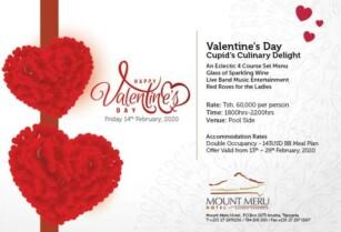 Valentine's at Mount Meru Hotel