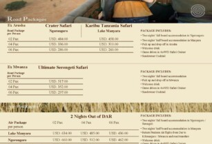 Serena Hotels Special Packages