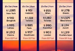 EMIRATES, QATAR, KLM & ETHIOPIAN SPECIAL FARES ~ BLUE LOTUS TRAVEL & TOURS