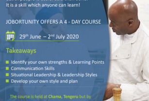 JOBORTUNITY IS OFFERING A COURSE ON STRENGTHENING PERSONAL LEADERSHIP SKILLS