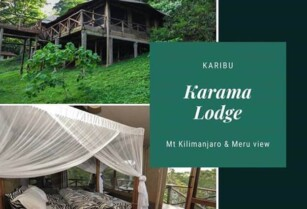 Enjoy a luxury tented house experience on Suye Hill at Karama Lodge