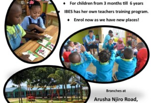 Discount on school fees 2021 for new IBES Daycare children in one of our branches