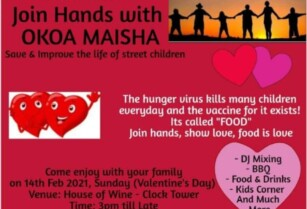 JOIN HANDS ON VALENTINE'S DAY WITH OKOA MAISHA