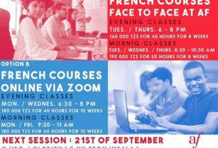 Last session of French courses at Alliance française Arusha