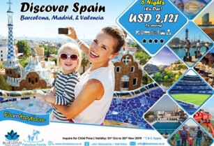 DISCOVER SPAIN WITH FAMILY 6 NIGHTS – BLUE LOTUS TRAVEL & TOURS LTD