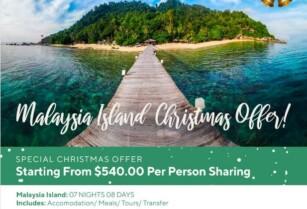 CHRISTMAS HOLIDAY OFFER – MALAYSIA