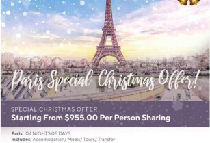 › PARIS CHRISTMAS OFFER!!!