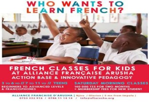 ***KIDS FRENCH CLASSES ***
