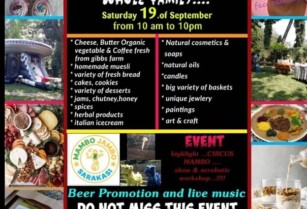 NEW FARMERS MARKET AND CRAFT MARKET WITH ENTERTAINMENT FOR THE WHOLE FAMILY ON SATURDAY