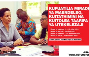 MS TCDC now Offering Short Professional Courses in Kiswahili/Tunatoa Mafunzo ya Muda Mfupi kwa lugha ya Kiswahili