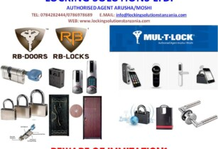 HIGH TECH SECURITY LOCKING SYSTEMS | Tanzania Mailing