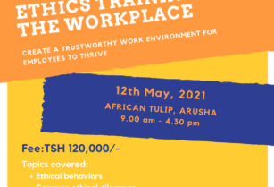 ETHICS TRAINING FOR THE WORKPLACE