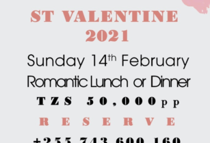 Reserve your VALENTINE's day at RIVERTREES – Usa River