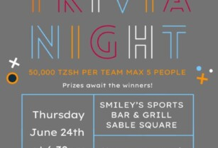 TRIVIA NIGHT THIS THURSDAY AT SMILEY'S SABLE SQUARE