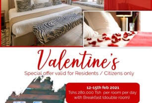 VALENTINE'S DAY SPECIAL AT THE AFRICAN TULIP HOTEL, ARUSHA – CHIC. UNIQUE. AUTHENTICALLY AFRICAN